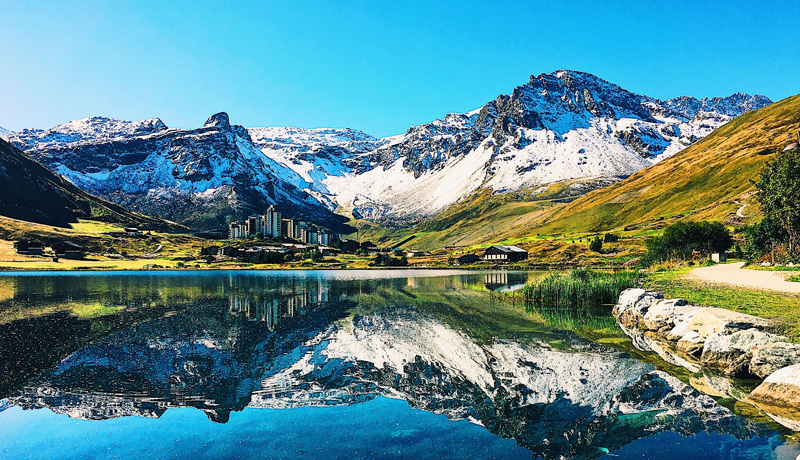 French alpine resort of Tignes