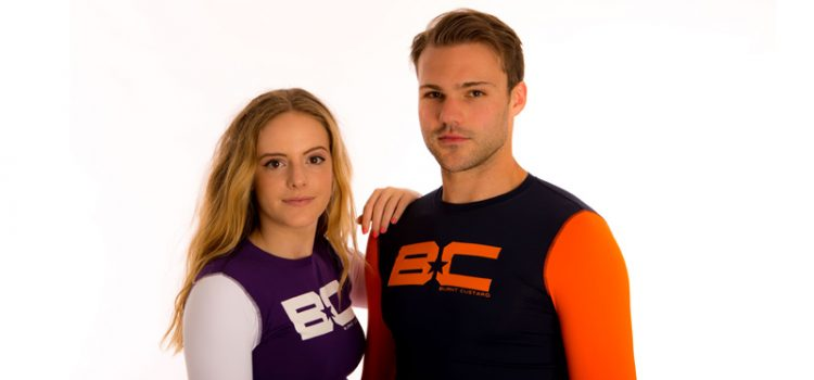 New Range Of Burnt Custard Baselayers Work For Water And Action Sports Too