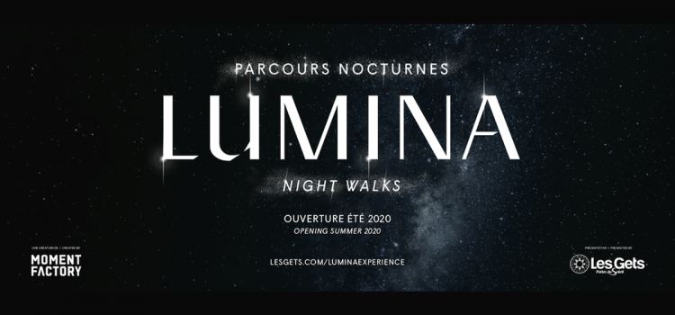 Les Gets Launches The First Ever European Lumina Night Walk Park
