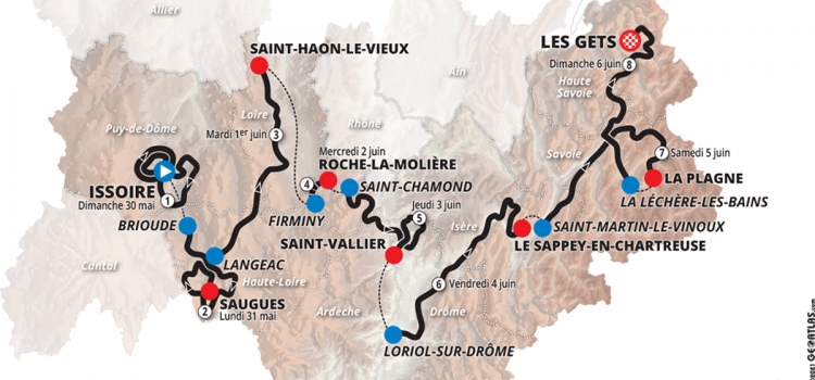 Final Stage Of The 2021 Critérium du Dauphiné To Finish In Mountain Resort Of Les Gets